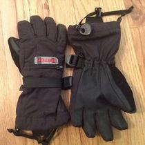 Burton Youth Vent Gloves Size S Black Photo