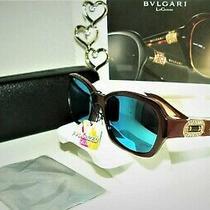 Bvlgari 4071-B 5177 Luxury Womens Sunglasses Adorned W/ Crystals Bx 54 Tf Rb Photo