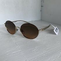 Bvlgari 6119 278/18 Pale Gold Orange Gradient Sunglasses Photo