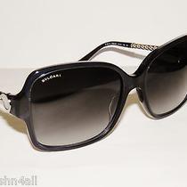 Bvlgari 8125h 8125 trans.dark Blue/grey Gradient 52968g New Bulgari Sunglasses  Photo