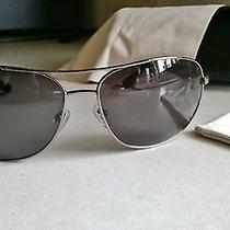 Bvlgari Black Plated Sunglasses With Black Frame and Black Lense Photo