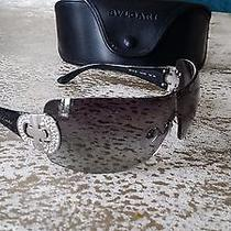 Bvlgari Black Shield Sunglasses Photo