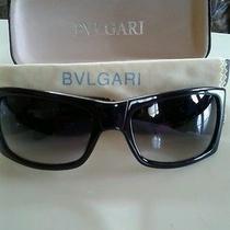Bvlgari Black Sunglasses 2099 col.01  58 13-120 Stoneused-Other Photo