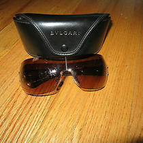 Bvlgari Brown Aviator Sunglasses Photo