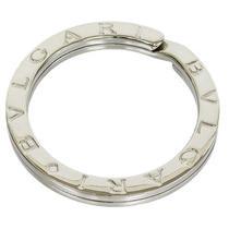 Bvlgari Bulgari Logos Key Chain Ring in Sterling Silver 925 C7811 Photo