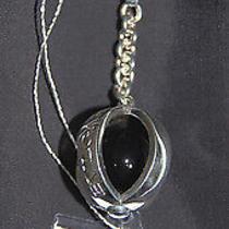 Bvlgari Bulgari Sterling Silver Onix Italy Keychain New Retail 280 Photo