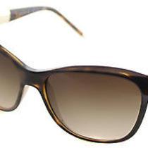 Bvlgari Bv 8104 977/13 Havna Plastic Soft Cateye Sunglasses Brown Gradient Lens Photo