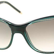 Bvlgari Bv 8104 992/8e Aqua Green Azure Green Plastic Soft Cat Eye Sunglasses Photo