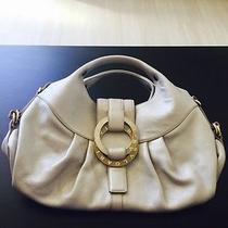 Bvlgari Chandra Platinum Mother of Pearl Handbag Purse Photo