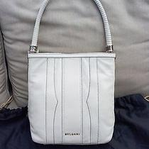 Bvlgari Designer White Shoulder Bag Photo