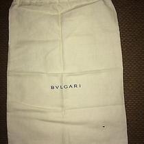 Bvlgari Dust Bag Gift Quality Nwot Photo