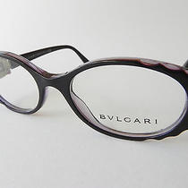 Bvlgari Eyeglasses 4054 4054-B Purple 5112 New Authentic Frames Photo