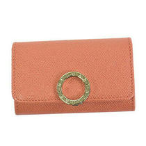 Bvlgari Key Case Keyholder S 289031 Silky Coral Photo