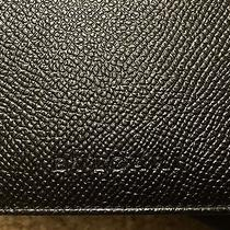 Bvlgari Man's Wallet Italian Black Grain Leather  Photo
