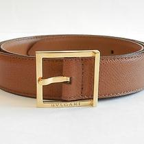 Bvlgari Men's Leather Belt  Photo