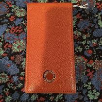 Bvlgari Note Holder Country Calf Cognac Photo