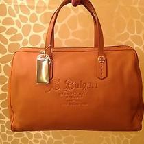 Bvlgari on-the-Go Beige Handbag Photo