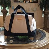 Bvlgari Parfums Women Weekender Duffle Bag Travel Shopping Purse Tote Handbag Photo