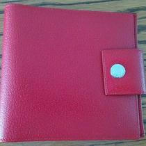 Bvlgari Red Leather Date Book or Phone Book Photo