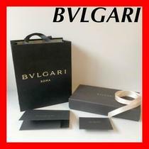 Bvlgari's Empty Box Ribbon Message Card Case Brand Paper Bags Bvlgari Bag 68559 Photo