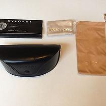 Bvlgari Special Edition Sunglasses Case - Cloth - Coa Photo