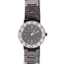 Bvlgari Stainless Steel 29mm Diagono Quartz Watch Black  Photo