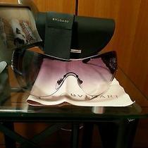 Bvlgari Sunglasses 6054bm 176/8h Violet Gradient Photo