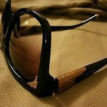 Bvlgari Sunglasses 8134-K Black/gold Plated Photo