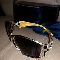 Bvlgari Sunglasses Gold Photo