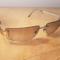 Bvlgari Sunglasses Silver Frame With Gold Accent Photo