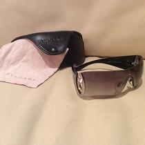 Bvlgari Sunglasses W/swarovski Crystals 8026-B. Bvlgari Case & Cloth  Photo