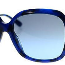 Bvlgari Womens Blue Sunglasses Bv 8124b 52888f Sz 57 Photo