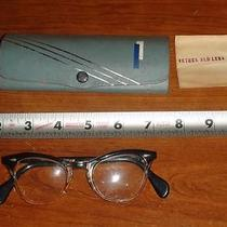 Bx306 Vintage American Optical Retro Eyeglasses With Case Photo