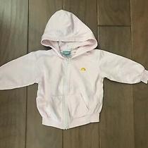 c&c California Baby Girl Pink Zip-Up Hoodie Size 0-6m Photo