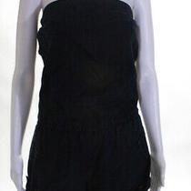 c&c California Womens Strapless Denim Romper Blue Size 6 Photo