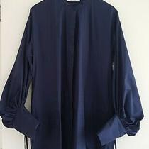 c&m Camilla and Marc Vacation Navy Shirting Dress-10 Bnwt 300 Stunning  Photo