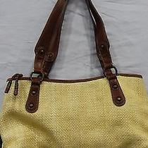 C01/ Fossil Straw Shoulder Purse Photo