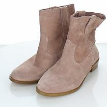 C27 New 148 Women's Sz 6.5 M Rebecca Minkoff Chasidy Suede Booties in Blush Photo