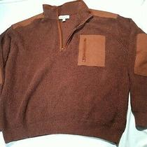 Cabelas Mens Commando 2xl Rust Red Hunting Sweater  Photo