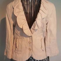 Cabi Light Pink Blush Blazer Size 6 Style 400 Photo
