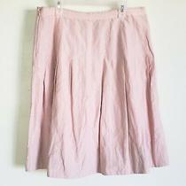 Cabi Women's Skirt 521 Blush Pink High Court Size 6 Pleated Short  Photo