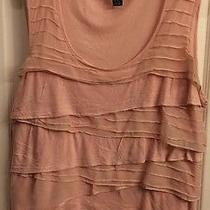 Cable & Gauge Tee Women Size 1x Blush Color Rn  73163 Photo