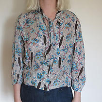 Cacharel Blouse With Bird Print Photo