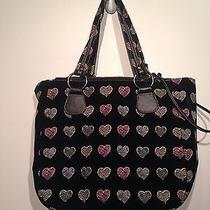 Cacharel Hearts Purse Handbag Photo