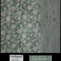 Cacharel Mid Century Scarf Silk Blend Glentex Imitation English Austerity 21 Sq Photo