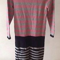 Cacharel Striped Dress Wool Angora Size 1 Photo