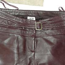 Cache 100% Lamb Leather Pants Photo