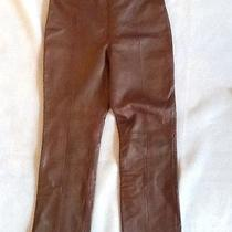 Cache Lamb Leather Pants 10 Photo
