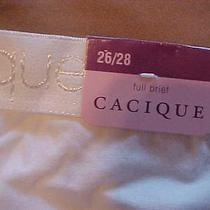 Cacique Full Brief 26/28 Womens Panties Lane Bryant New With Tag Free Ship Nr Photo