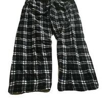 Cafe Express Pajama Pant Black and White Plaid Pants Photo